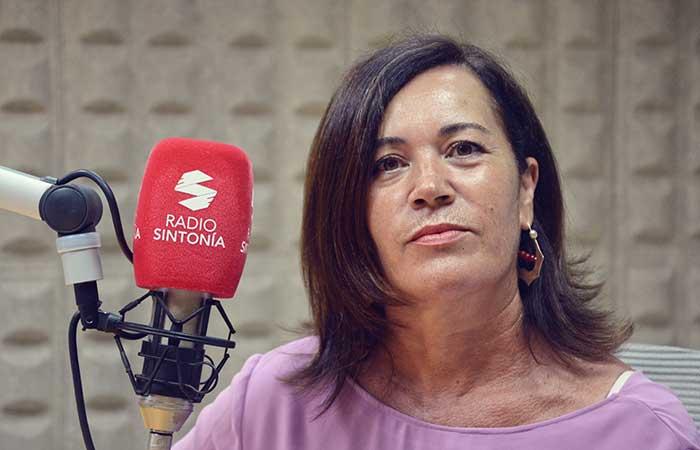La periodista Marusa Hernández