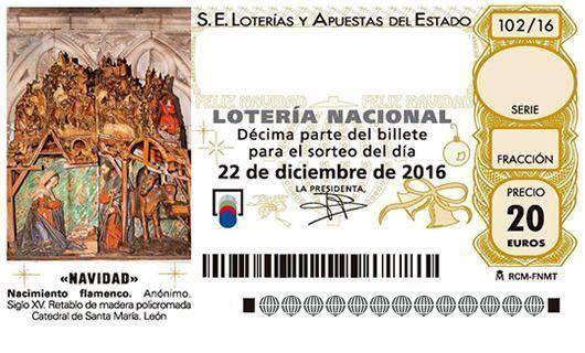 El cuarto premio de la Lotería de Navidad 2016 deja un pellizco en ...