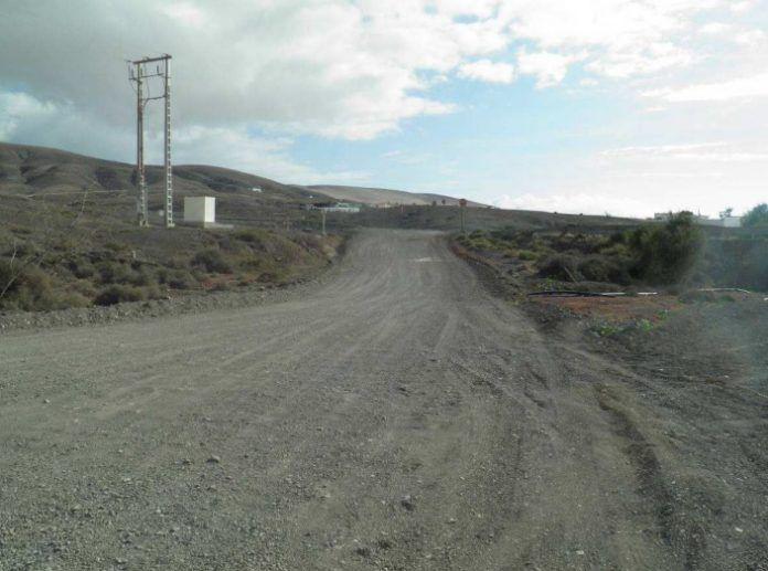 Pista de tierra del Barranco La Pared