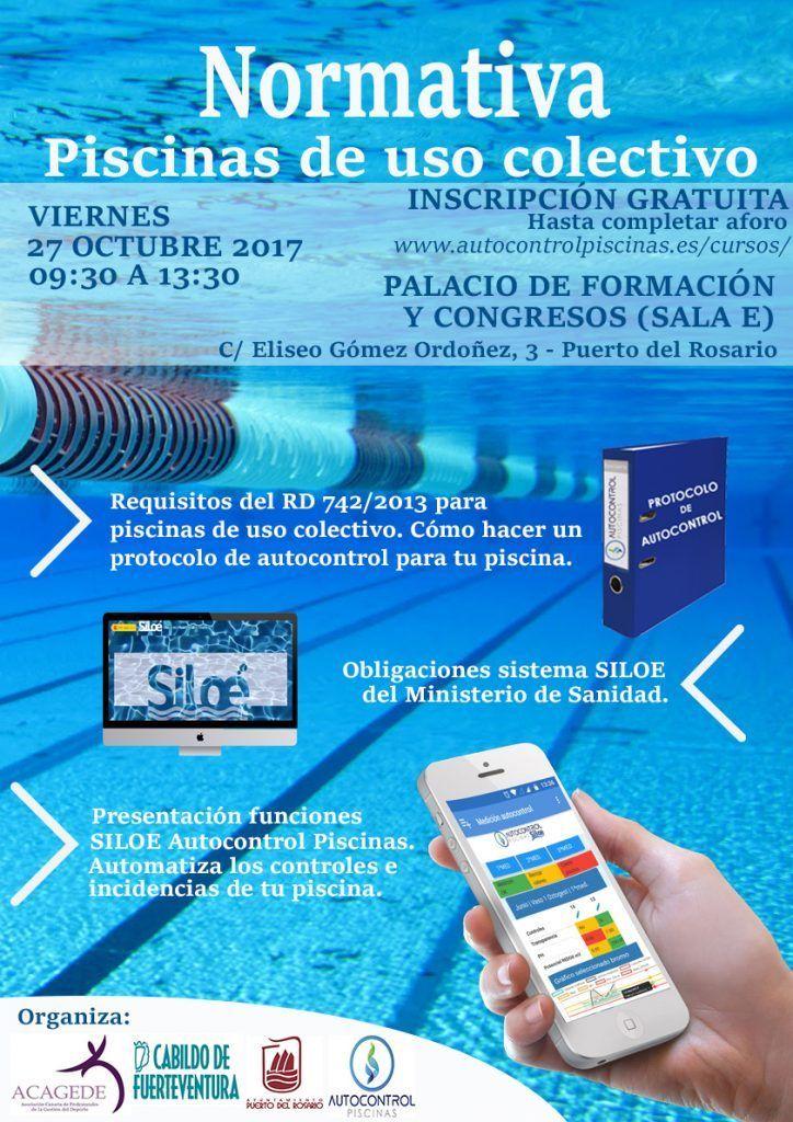 Jornadas normativa de piscinas de uso colectivo radio for Normativa de diseno de piscinas