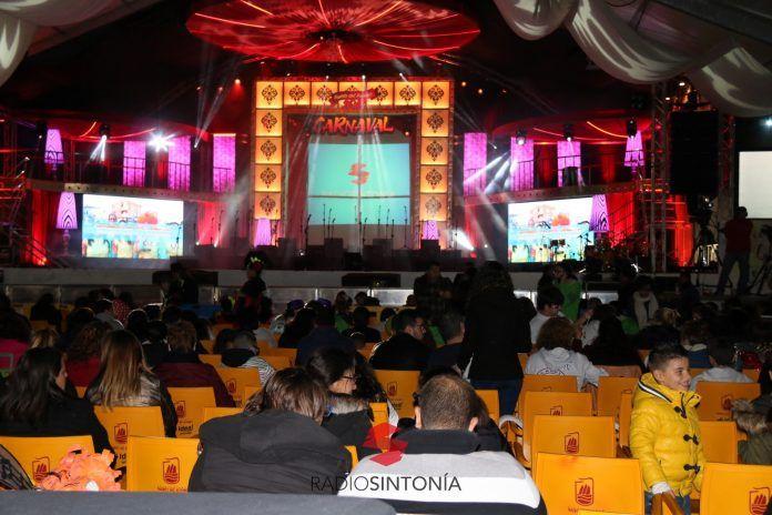escenario carnaval puerto del rosario