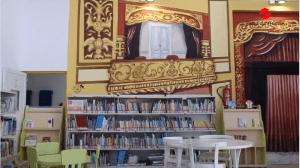 biblioteca libros infantiles niños niñas
