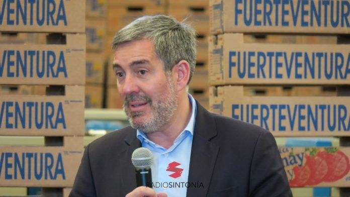 Fernando Clavijo en Fuerteventura