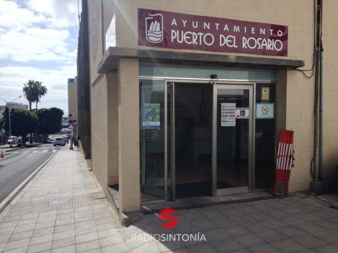 Entrada del Ayto. Puerto del Rosario
