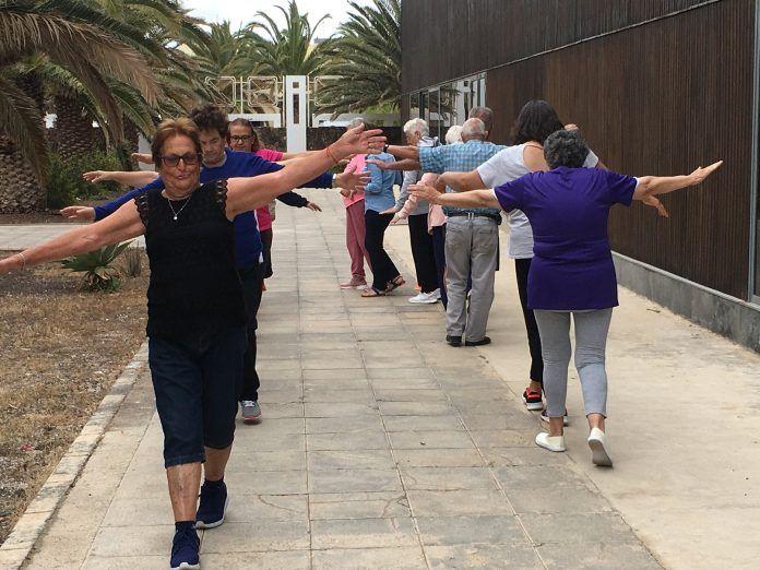 'Mayores en forma' un programa en La Oliva para mayores de 60 años