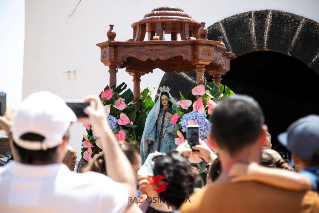 Embarque la Virgen del Buen Viaje en El Cotillo, Corralejo