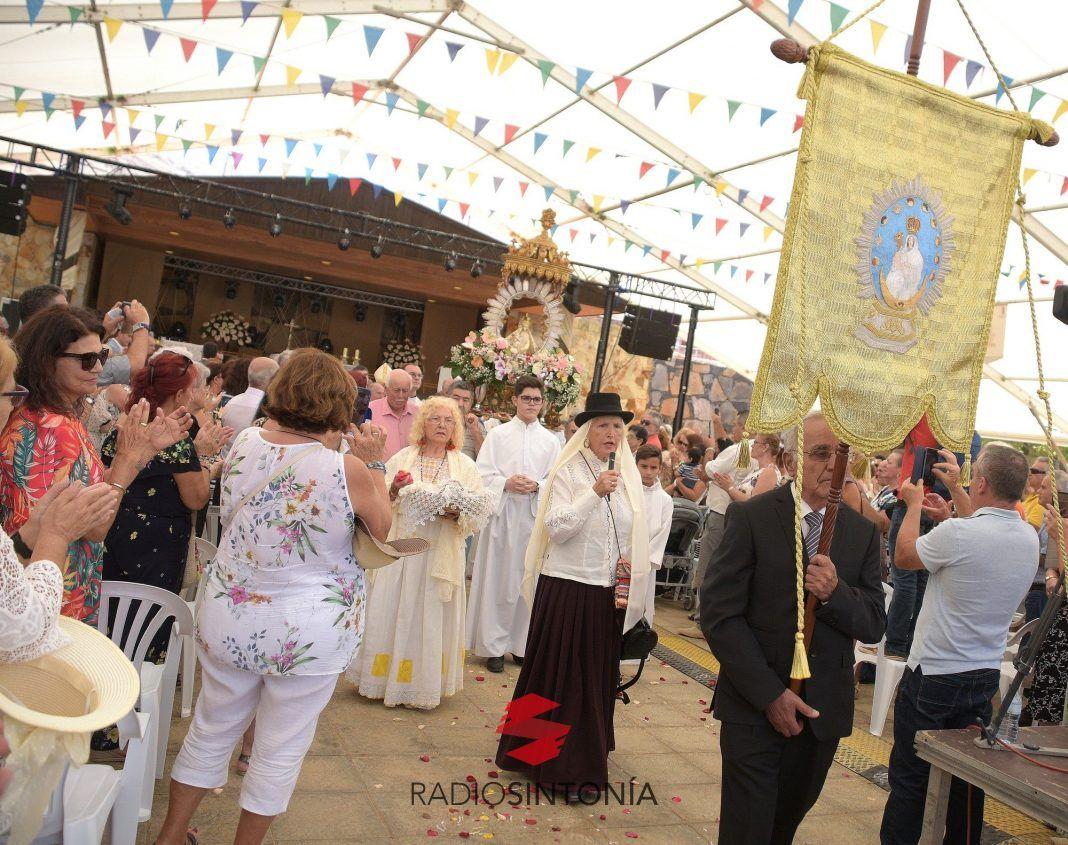 Misa en honor a Nuestra Señora de La Peña en la Vega de Río Palmas