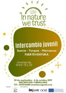 In Nature We Trust Erasmus +