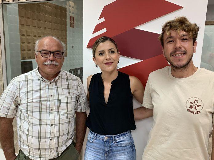 Tony Gallardo, co-organizador del IV Encuentro Internacional de Voluntariado Ambiental en Canarias, y Alberto Sarabia, biólogo marino de AVANFUER hoy en Radio Sintonía