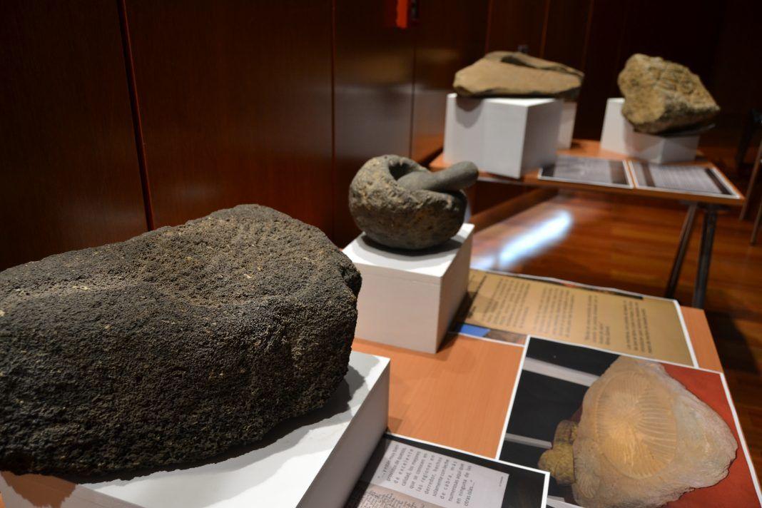 Restos de hallazgos arqueológicos Cabildo de Fuerteventura