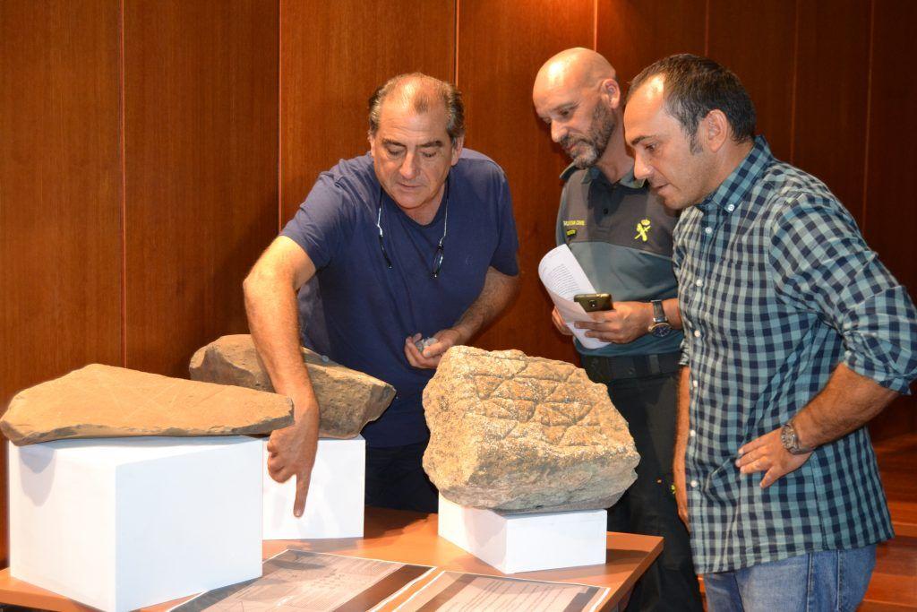 Restos arqueológicos donados por vecinos de Fuerteventura