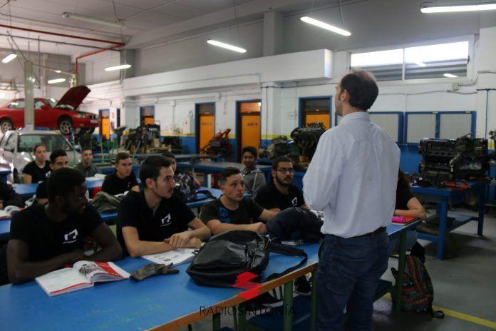 CANARIAS fp becas formación profesional Clase en el CIFP Majada Marcial