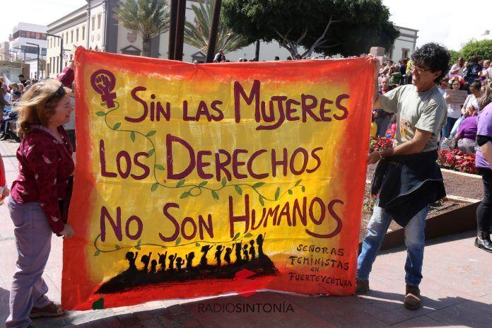 Manifestación feminista tanit