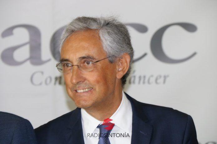 Fernando Fraile presidente de la Asociación Española contra el Cáncer (AECC) de Las Palmas.