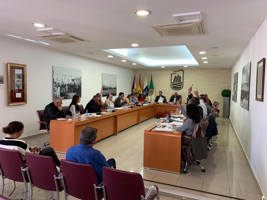 Pleno Presupuestos de Puerto del Rosario 2020