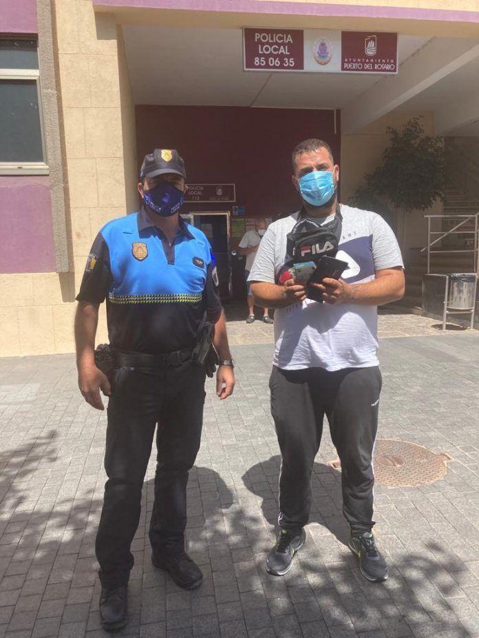 cartera policía local