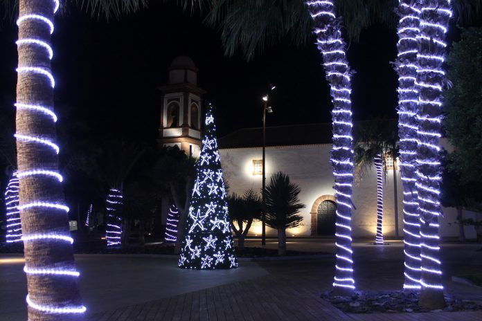 luces navidad antigua
