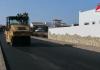 asfaltar calle carretera la oliva